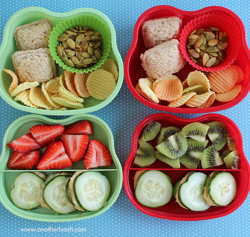 two bento box lunches cute 2 tier boxes for young kids