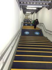 世田谷代田駅の106段の階段
