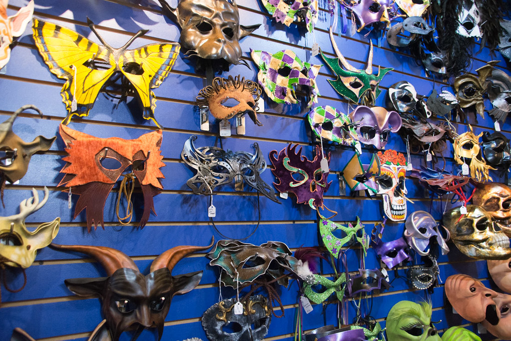 Mardi Gras Mask Store