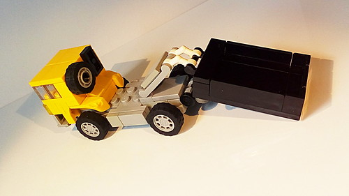 How to Build the Hook Lift Garbage Truck (MOC)