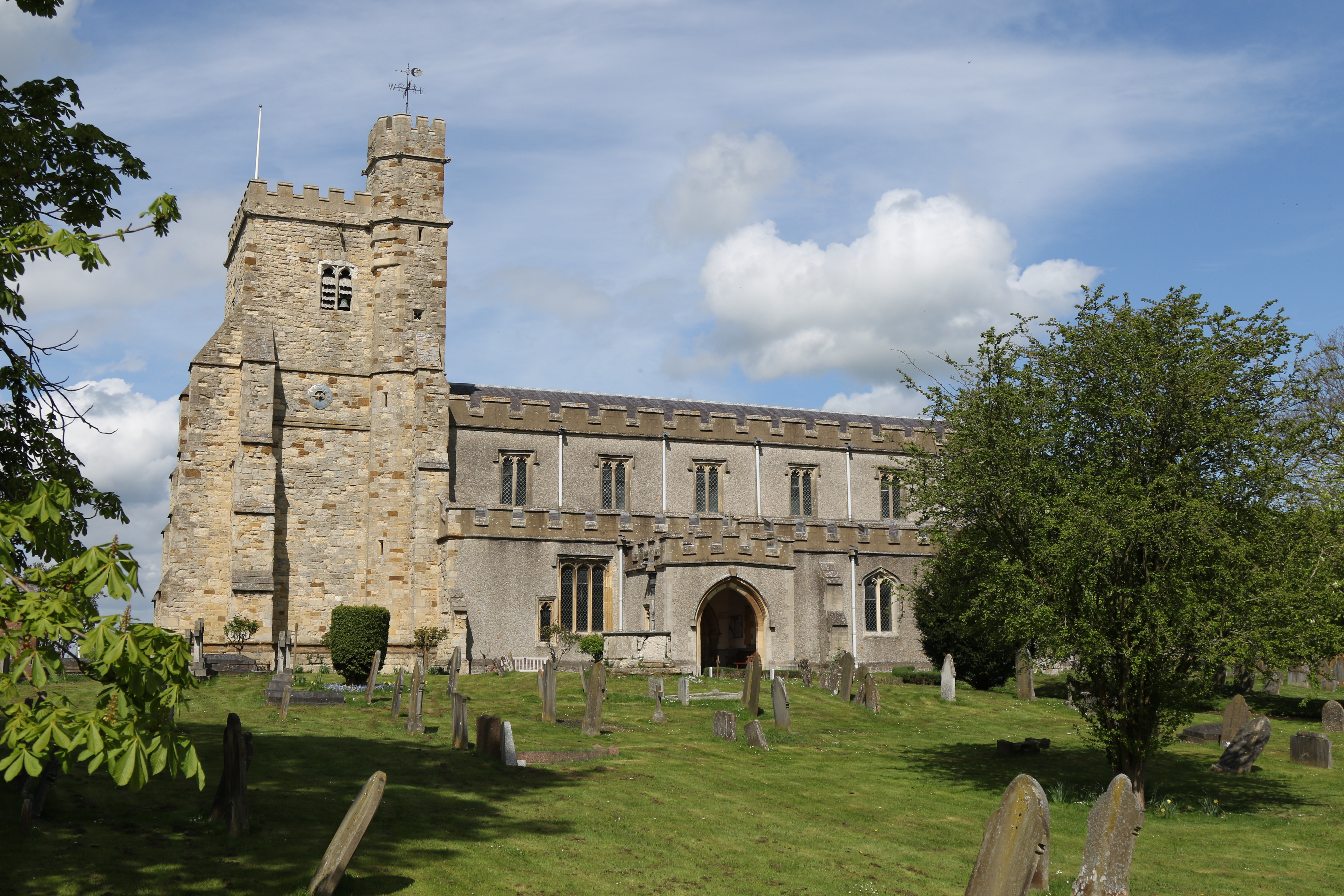 Buckinghamshire, WADDESDON, St Michael and All Angels