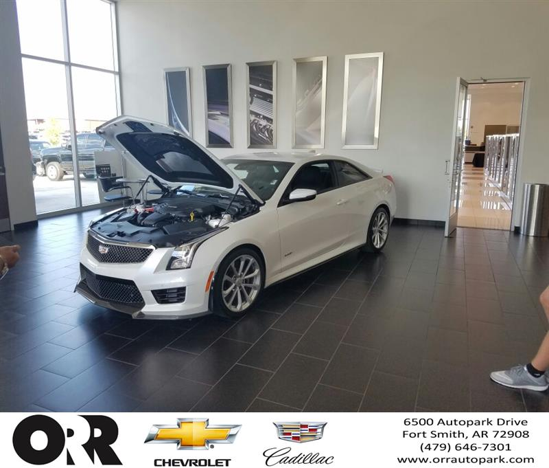 Orr Chevrolet Fort Smith >> It S Here 3 6tt Ats V Orr Chevrolet Cadillac Of Fort