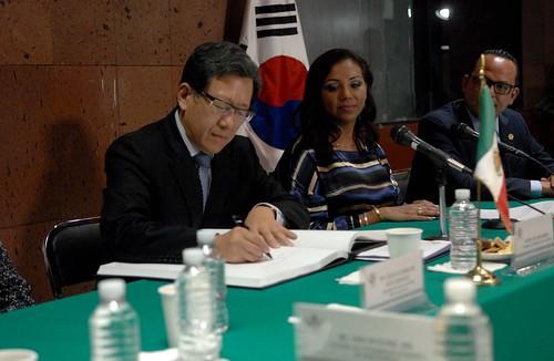 Grupo De Amistad México-Corea 28 de Septiembre del 2016