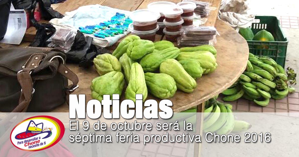 El 9 de octubre será la séptima feria productiva Chone 2016