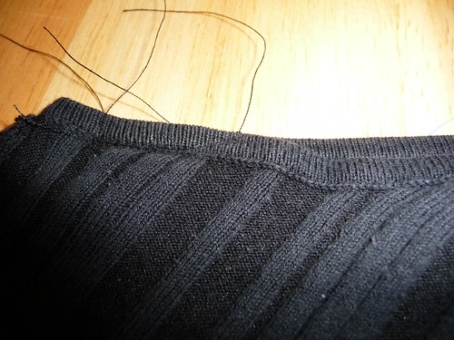 Altering - Black Knit