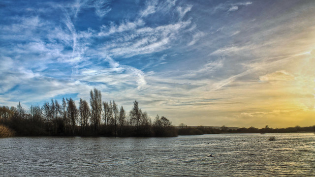0332 - England, Nottinghamshire, Attenborough Nature Reserve HDR