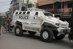 One Serious Police Vehicle