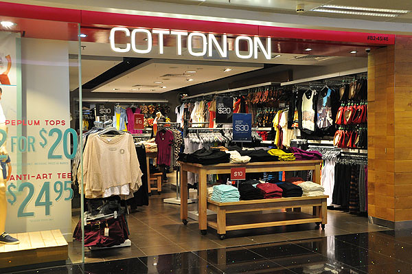 Cotton On store