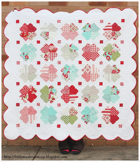VM-I Heart Quilt - Walking Quilt Look2