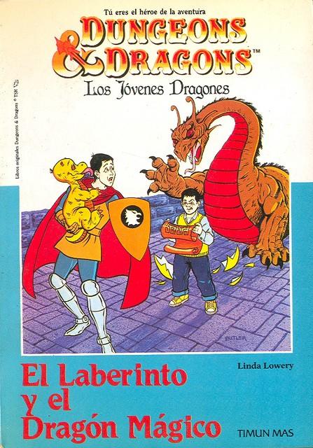 El Laberinto y el Dragón Mágico