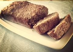 meal(0.0), ciabatta(0.0), meat(0.0), pã¢tã©(0.0), produce(0.0), dish(0.0), breakfast(1.0), baking(1.0), bread(1.0), rye bread(1.0), whole grain(1.0), baked goods(1.0), banana bread(1.0), food(1.0), brown bread(1.0), cuisine(1.0),
