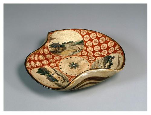 009-Plato-periodo Edo siglo 18-Cortesía del Tokyo National Museum