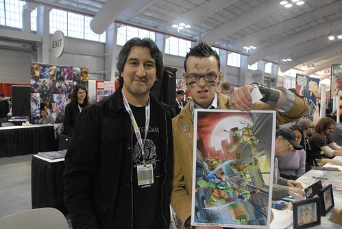 New York Comic Con 2012 :: Dario & tOkKa