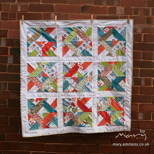Alphabet Soup Quilt - boy
