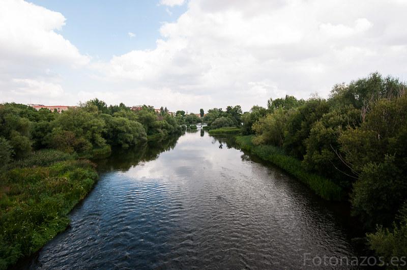 El puente romano de Salamanca sobre el río Tormes
