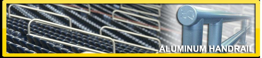 Ford Field Aluminum Handrail