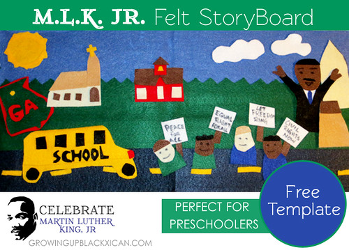MLK JR FELT STORYBOARD