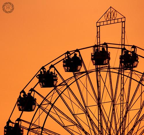 Giant wheel by Ramachandran M R