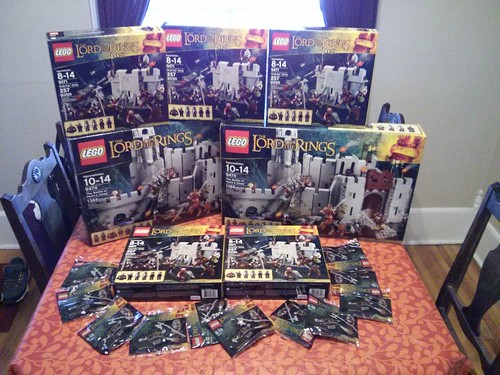 helms deep lego collection