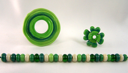 St. Patricks Day Lampwork