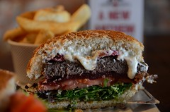 Coat of Arms Burger AUD14.50, chips AUD3.50 - insi…