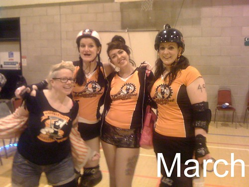 Last Roller Derby Game for SSRG