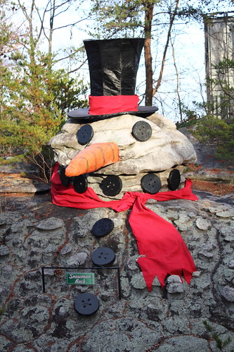 Rock City Snowman Rock