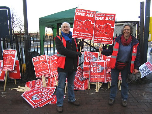 Save Lewisham's A&E and Maternity