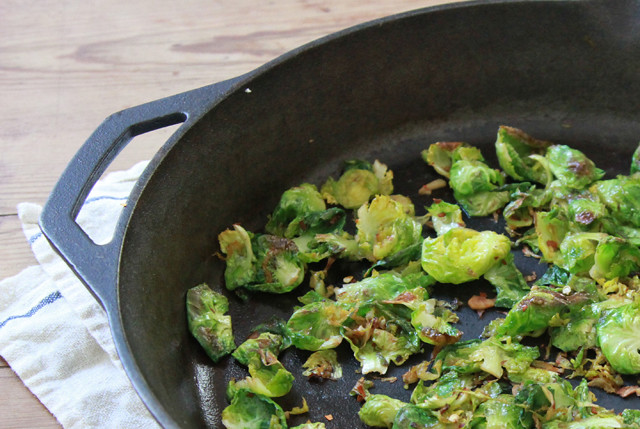 brussels sprout pasta