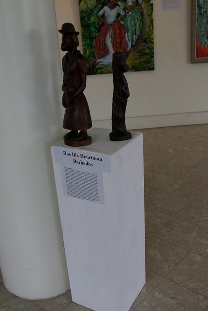Sculpture by Ras Ilix Heartman & Ras Bongo I