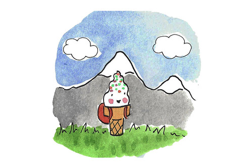 Mountain cone