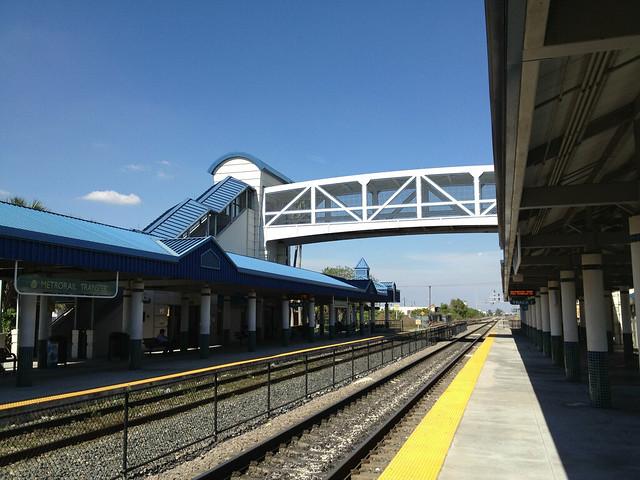 Metro Rail Tri Rail Station Flickr Photo Sharing