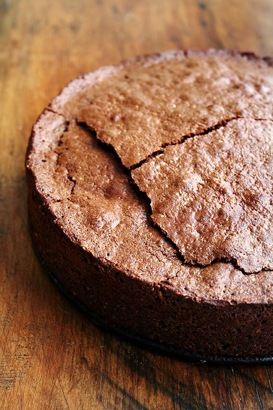 Torta Caprese Flourless Chocolate Almond Torte