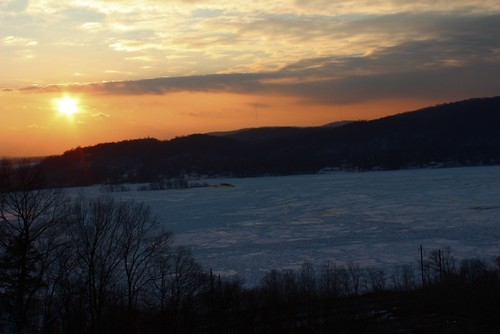 Sunset over the Susquehanna