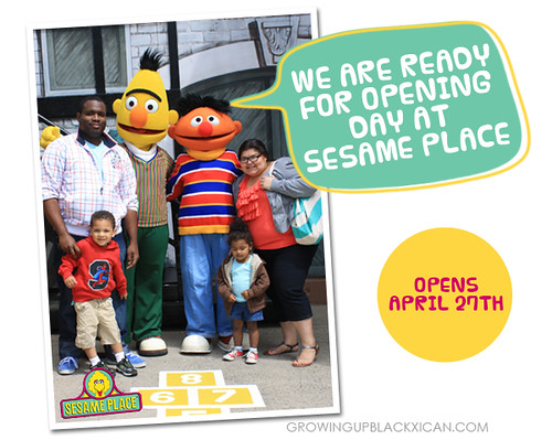 sesame place opening day 2013