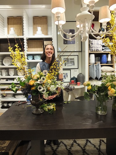 Sarah Winward at West Elm