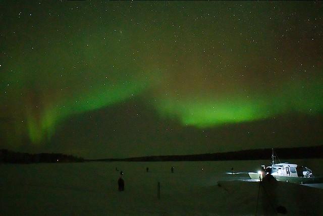 Aurora at Nellim