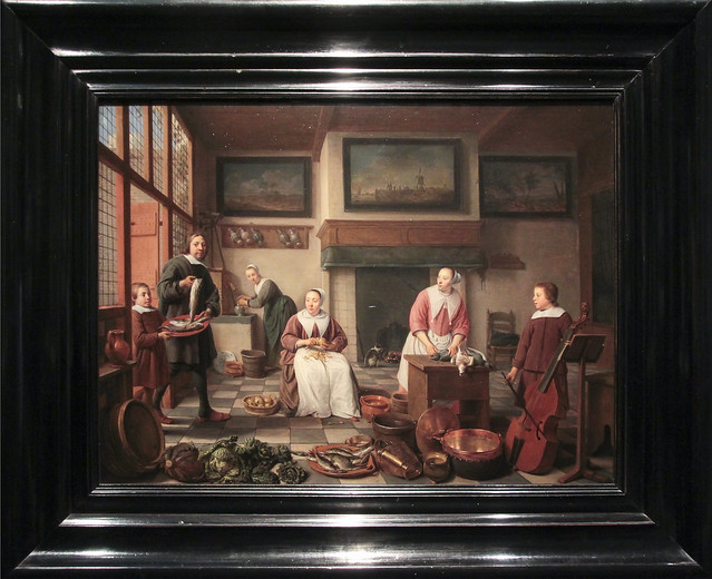Jacob Bierens with his family, Hendrick Sorgh 1663