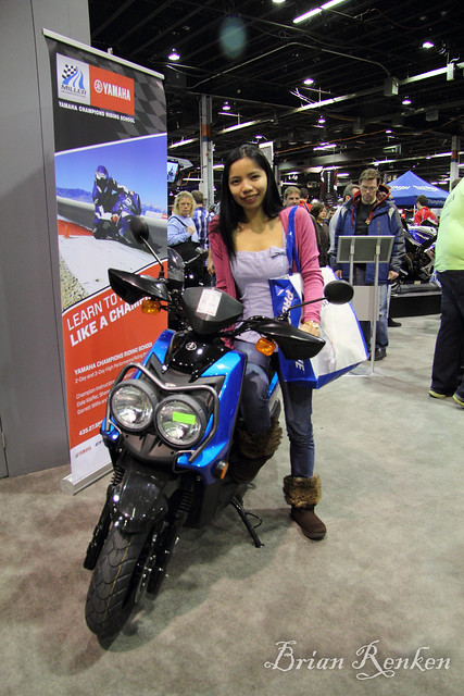 Yamaha Zuma Sports Scooter