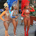 The  street Carnival muses, Rio de Janeiro. Carnival 2013.