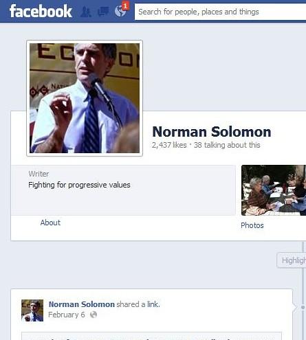 norman solomon