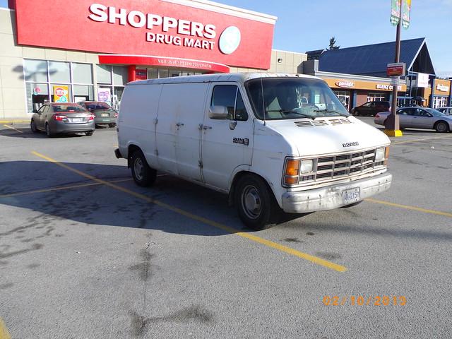 Dodge Van Autos Post