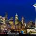 Seattle skyline panorama by Dibrova