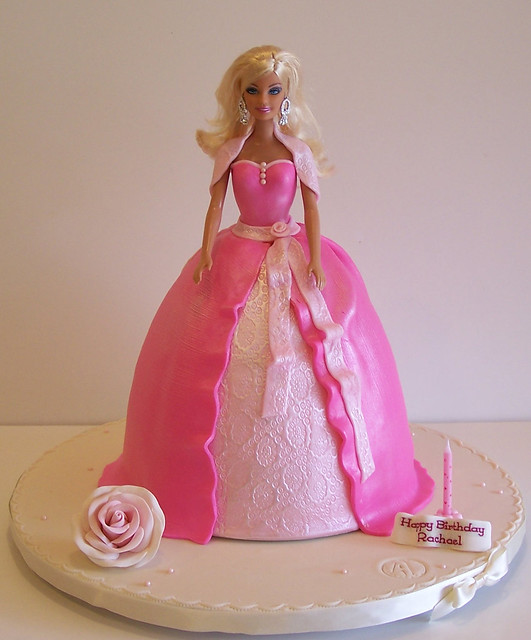 Barbie doll cake Flickr - Photo Sharing!