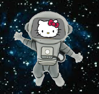 Hello Kitty in Space!