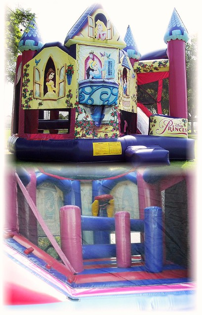 Princess 5-N-1 Combo - Bounce, Climb, Slide, Shoot Hoops, & dodge obstacles! ALL IN ONE!