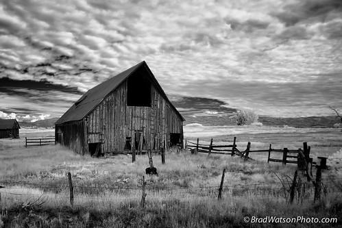 architecture barn america landscape countryside colorado scenic infrared hdr 2011 bradleycwatson bradwatsonmediacom bradwatsonphoto