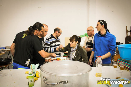 Comida de Navidad 2012 - Grupo scout  Margyjp