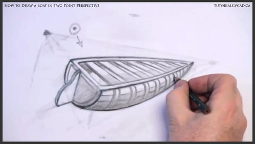 learn how to draw a boat in two point perspective 014