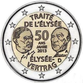 *2 Euro Nemecko 2013 A, Elyzejská zmluva